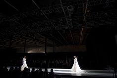 Propuesta de Franc Sarabia en el desfile de la Pasarela Barcelona Bridal Week 2013.