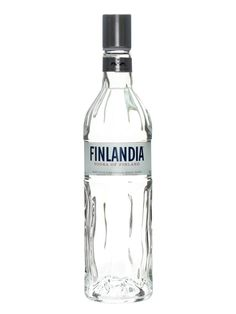 Finlandia Vodka. A nice clean vodka, mixes well or very nice straight.