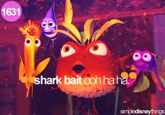 Finding Nemo! Love that movie!
