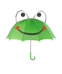 Look what I found on #zulily! Kidorable Green Frog Umbrella by Kidorable #zulilyfinds