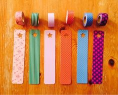 ❤️アクセス先のブログに【ハガキとマスキングテープで作るしおり】の作り方が載っています Paper Art, Paper Crafts, Tanabata, Present Wrapping, New Crafts, Craft Work, Washi Tape, Stationery, Presents