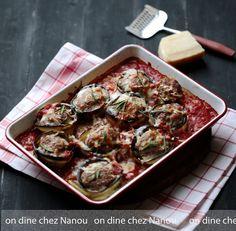 Boulettes porc /boeuf aubergines