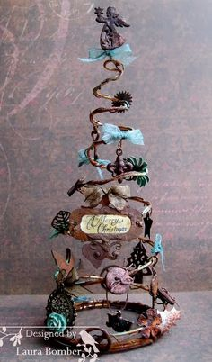 Steampunk Christmas Tree - Laurart