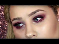 Cranberry Fall Makeup Tutorial - YouTube