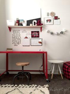 Cricut Design Space Star -- The Project Girl Lumberjack Bedroom  -- #DesignSpaceStar The Final Five