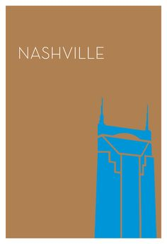Boldly-Colored, Minimalist City Posters Featuring Iconic Urban Structures - DesignTAXI.com