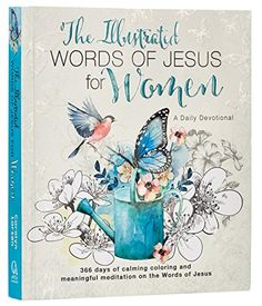NEAT a Devotional Coloring Book! The Illustrated Words of Jesus for Women: A Creative Dail...