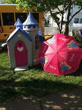 Rare And Huge Disney Princess Wonderland Castle Outdoor Playhouse