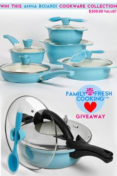 Win this Cookware From Anna Boiardi GIVEAWAY {$200.00 Value!} | FamilyFreshCooking.com