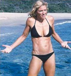Madonna, OMG how fit is she? Bikini Swimwear, Sexy Bikini, Bikini Girls, Swimsuits, Si Swimsuit, Madonna Movies, Madonna 80s, Guy Ritchie, Brigitte Bardot
