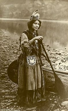Native American girl.  Beautiful
