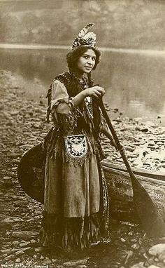 Native American girl.  Beautiful