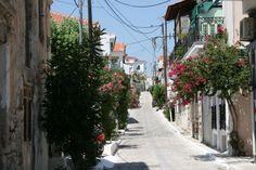 Samos - Pythagorion street