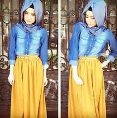blue and yellow styl.