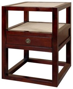 Polo 1-Drawer Side Table - Side Tables And Accent Tables - New York - Bungalow5