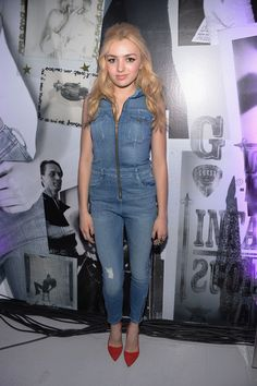 Peyton List attends GUESS Celebrates New York Fashion Week: On the Road to Nashville at Center 548 on February 2014 in New York City. Peyton List, Peyton Roi, Emma Ross, List Style, Famous Stars, Daisy Dukes, Heidi Klum, Beautiful Celebrities, Celebrity Crush