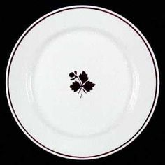 THIS PATTERN IS ALMOST IDENTICAL TO WEDGWOOD PATTERN OF THE SAME NAME AND COLORING ~ ~ ~ Meakin, Alfred, Tea Leaf at Replacements, Ltd - Page 1