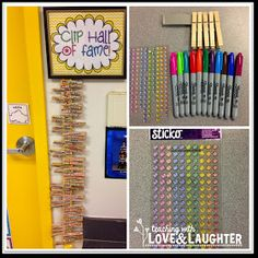 Teaching With Love and Laughter: Bright Idea: Clip Hall of Fame