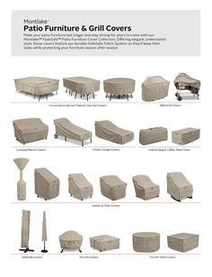 25 patio furniture waterproof covers