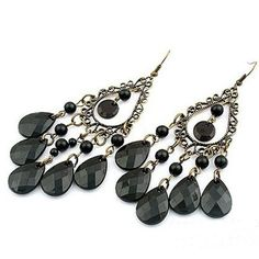 Retro Fashion Hollow Tassel earrings