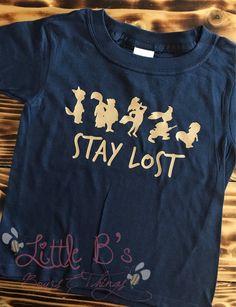 Peter Pan Neverland Second Star Damen T-Shirt Grau Meliert
