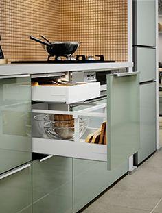 """Résultat de recherche d'images pour """"cuisine vert de gris ikea kallarp"""""""