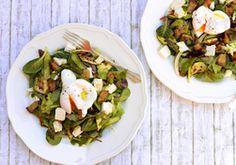 Légumes grillés, coulis de persil