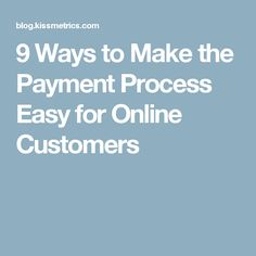 If you're serious about making it easier for your customers to pay and increasing sales for your business, you will want to have full control over the entire checkout process. Ecommerce, Easy, How To Make, E Commerce