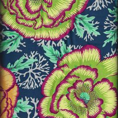Kaffe Fassett Collective Spring 2016  HENLEY MIDNIGHT