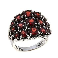 Nicky Butler Garnet Sterling Silver East/West Dome Ring Different Shades Of Red, Garnet Jewelry, My Birthstone, Butler, Color Change, Birthstones, Rings For Men, Sterling Silver, Purple