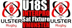 TEAM NAMED HERE Saturday Fixture! IRFU Ulster Rugby U18 Club Interpro v MUNSTER!! NOW ON WWW.INTOUCHRUGBY.COM!