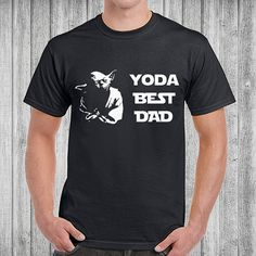 Father's Day T Shirt Yoda Best Dad Tshirt Fathers Day