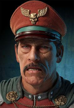 That's One Heck Of An M. Bison You've Got There #DannyTrujo