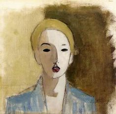 Helene Schjerfbeck - The Stubborn Girl 1938 - Pictify - your social art network