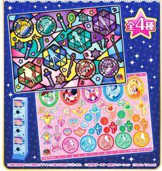 Sailor Moon Metal Sticker Sheet 2