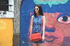 Lisbon walls are so funny. So is my face ahaha #fashion #dress #Lisbon