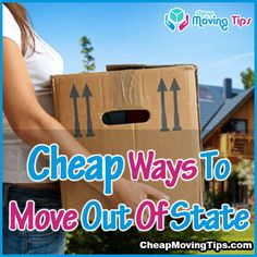 cheapest ways to move out of state. Lots of great tips in here!