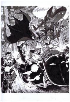 Batman - Brian Hurtt