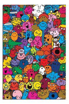 Mr Men & Little Miss Poster