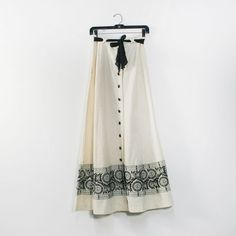 Embroidered Maxi Skirt, by Dusty Rose Vintage
