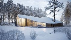 Winter House by Sergey Makhno Architects - Archiscene - Your Daily Architecture & Design Update