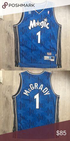 16eb433524a Adidas Orlando Magic Tracy McGrady NBA Jersey