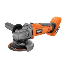 RIDGID X4 18V Lithium-Ion Cordless 4.5 in. Angle Grinder Spindle Lock Power Tool #RIDGID