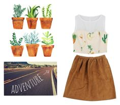 """cactus love"" by annieanne-tumblr13 ❤ liked on Polyvore featuring Kess InHouse and Ralph Lauren"