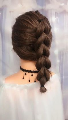 High Pony Hairstyle, Hairstyle For Girls Video, Ponytail Hairstyles Tutorial, Braided Ponytail Hairstyles, Braided Hairstyles Tutorials, Cute Hairstyles, Ponytail Tutorial, Hairstyles Videos, Bandana Hairstyles
