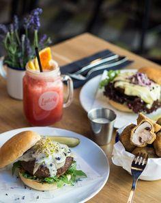 Birne & Lavendel Burger