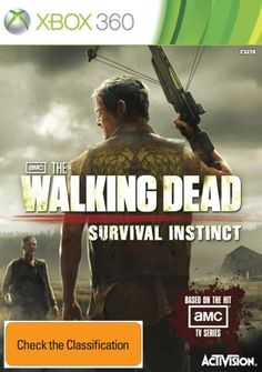 The Walking Dead: Survival Instinct XBOX game. Now all I need is an XBOX