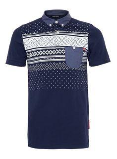 Criminal Damage BRICK POLO SHIRT* - Mens Polo Shirts - Clothing