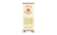 Sonnenschein e.V. - Roll-Up-Banner für Info-Veranstaltungen Weitere Referenzen unter www.agentur-denkm...