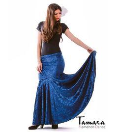 faldas flamencas para mujer - - Granada - Terciopelo martele